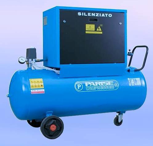 Silent-Piston-compressors